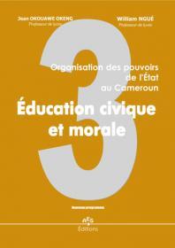 Couverture : Education civique et morale 3e