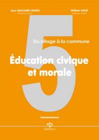 Couverture : Education Civique et morale 5e.