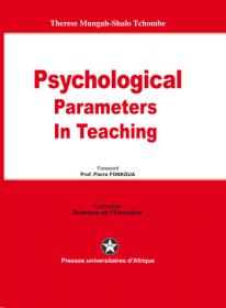 Cover : Psychological parameters in teaching