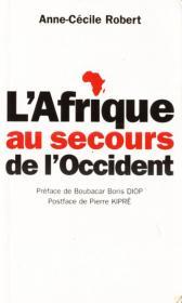 Couverture : L'Afrique au secours de l'Occident