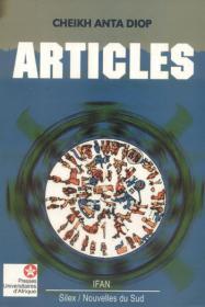 Couverture : Articles