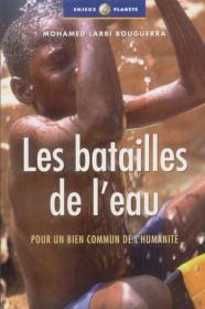 Couverture : Les batailles de l'eau