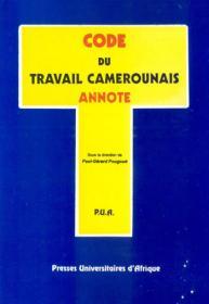 Couverture : Code du travail camerounais annoté