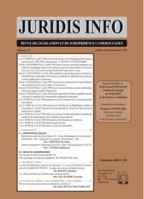 Couverture : Juridis N° : 35