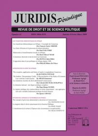 Couverture : Juridis N° : 41