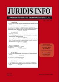 Couverture : Juridis N° : 9