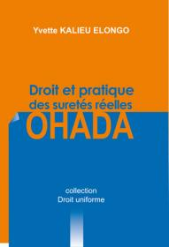 Couverture : Droit et pratique des sûretés réelles OHADA