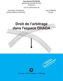 Couverture : Droit de l'arbitrage dans l'espace OHADA