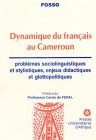 Couverture : Dynamique du français au Cameroun