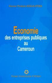 Couverture : Économie des entreprises publiques au Cameroun