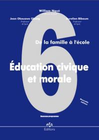 Couverture : Education civique et morale 6e