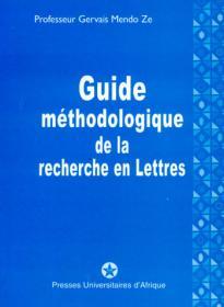 Couverture : Guide méthodologique de la recherche en Lettres