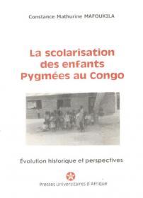 Couverture : La scolarisation des enfants pygmées au congo