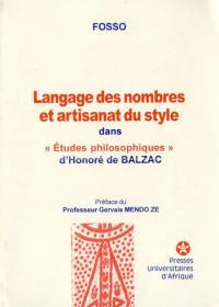 Couverture : Langage des nombres et artisanat du style