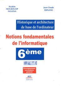 Couverture : Notions fondamentales de l'informatique