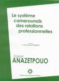 Couverture : Le Système camerounais des relations professionnelles