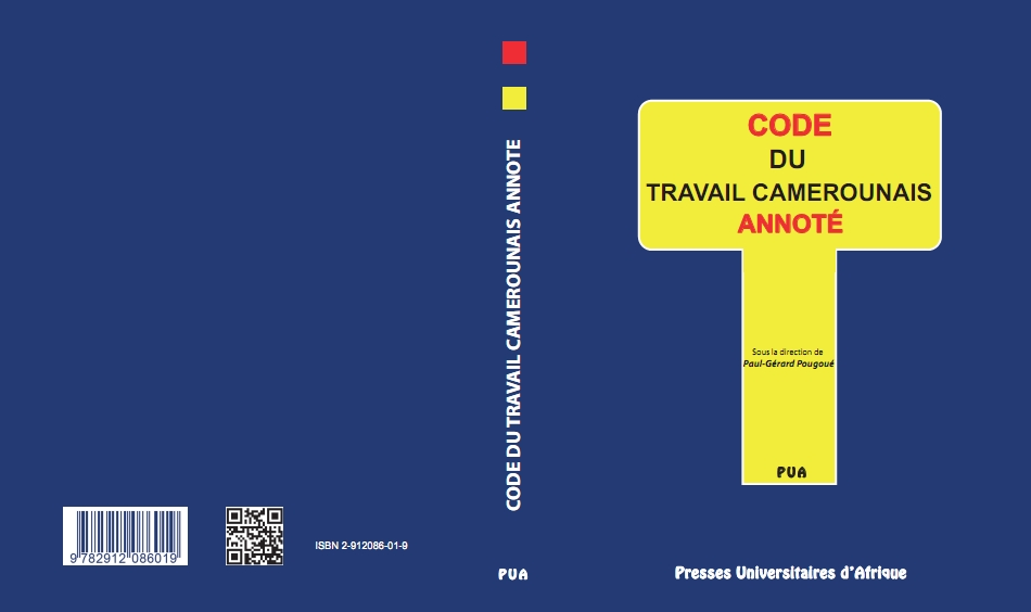 Couverture-Code du travail Camerounais annoté