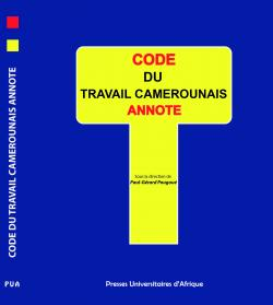 Couv_Code du travail camerounais annoté